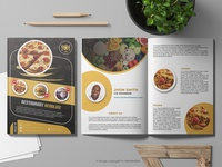 Professional Restaurant Menu Catalogue Design