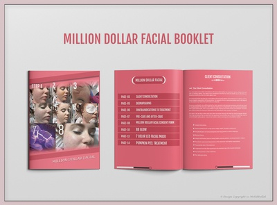 Salon Manual Booklet Design