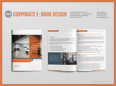 Corporate Ebook Design