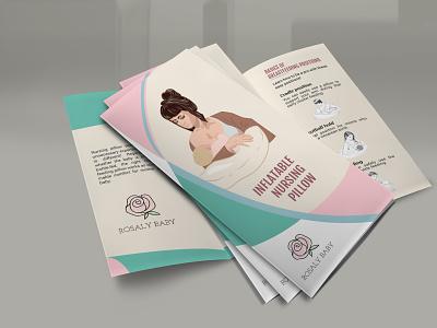Clean and Moder Trifold Brochure Flyer logo trifold brochure vector booklet design typography corporate illustration profesional flyer design brochure design