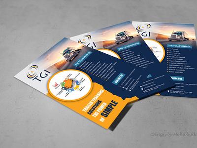 Magazine Ad Flyer Design vector branding design typography illustration flyer design brochure design magazine