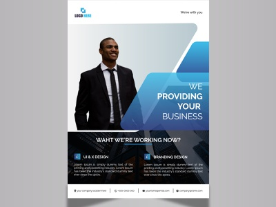 Corporate Business Flyer design branding profesional corporate leaflet poster bifold brochure flyer design brochure design