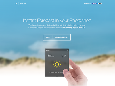 Weather Extension for Photoshop