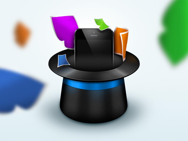 iOS Hat icon ios icon photoshop extension plugin iphone hat app