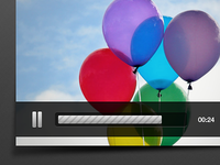Part of video player