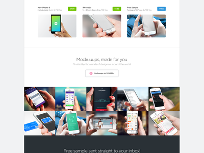 iPhone 6 Mockuuups 6s 6 iphone mockup template mockuuups page webdesign hand psd download sketch