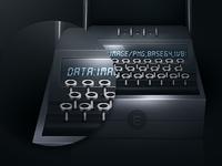 Enigma plugin enigma plugin first draft photoshop design icon base64 export images machine dark