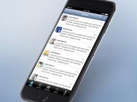 Twitter Client UI Concept