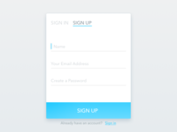 Daily UI #1 - Signup