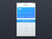 Daily UI #2  re: Credit Card Checkout UI