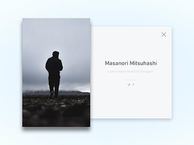 Daily UI #6 - User Profile user profile dailyui ui sketch