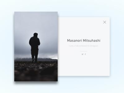 Daily UI #6 - User Profile