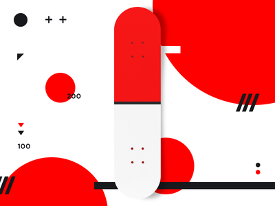 Deck Design minimal skateboard graphinc pokémon