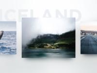 iOS 10 Style Photo gallery