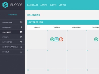 Encore - Calendar