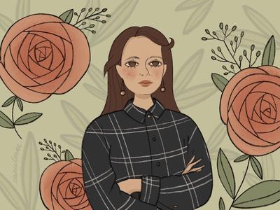 Rose portrait