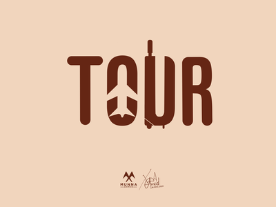 Tour Logo Design travel agency travelling creative travel logo travel logo conceptual logo tour bag plane simple logo meaningful logo logo design logodesign negative space logo branding logo minimalist logo creative logo clever tour logo creative tour logo tour