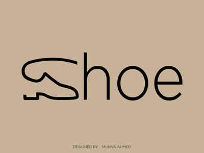 Shoe logo design