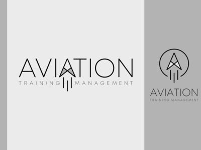 aviation training logo design