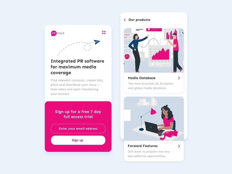 PR App Concept