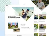 Golf website