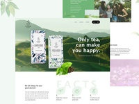Tea product page