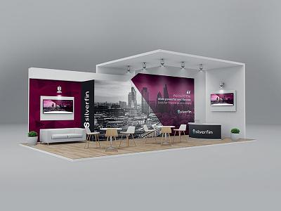 Silverfin Exhibition Stand design branding exhibition design