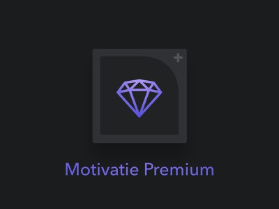 Motivatie Premium iap design iphone ios app