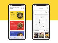 Food Delivery App Design for a Startup