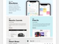 HeyHeyJo (Personal Site) Work Grid