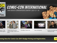 Comic-Con Microsite