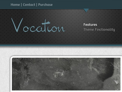 Vocation theme website