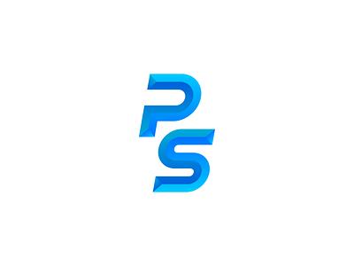 Product Spy icon gradient blue typography minimalistic minimalist minimalism minimal logo design branding