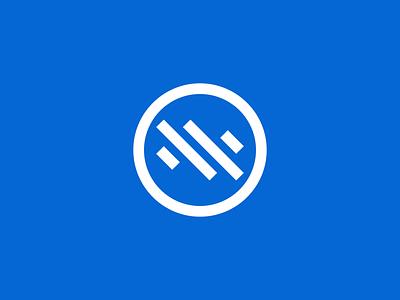 Suomi Exploration blue minimalistic minimalist logotype minimalism flat vector minimal logo design branding