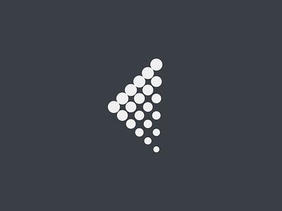 Vinstri grey gray icon minimalistic minimalist logotype flat minimalism minimal logo design branding
