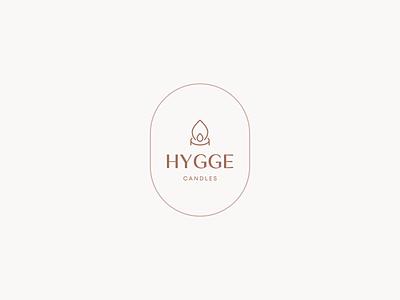 Hygge Candles candles candle ground hygge icon pastel minimalistic logotype minimalist minimalism flat vector minimal logo design branding