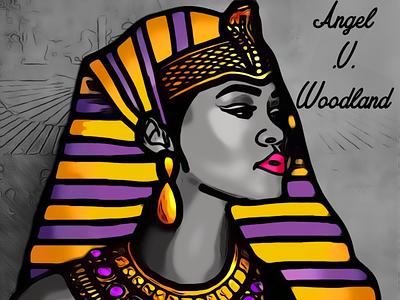 Egyptian Queen egyptian royalty woman headpiece crown queen