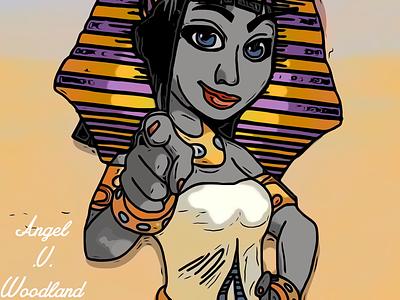 Gyptian Queen