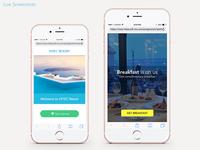 Resort Portal Landing