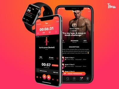 Tona Workout Recording