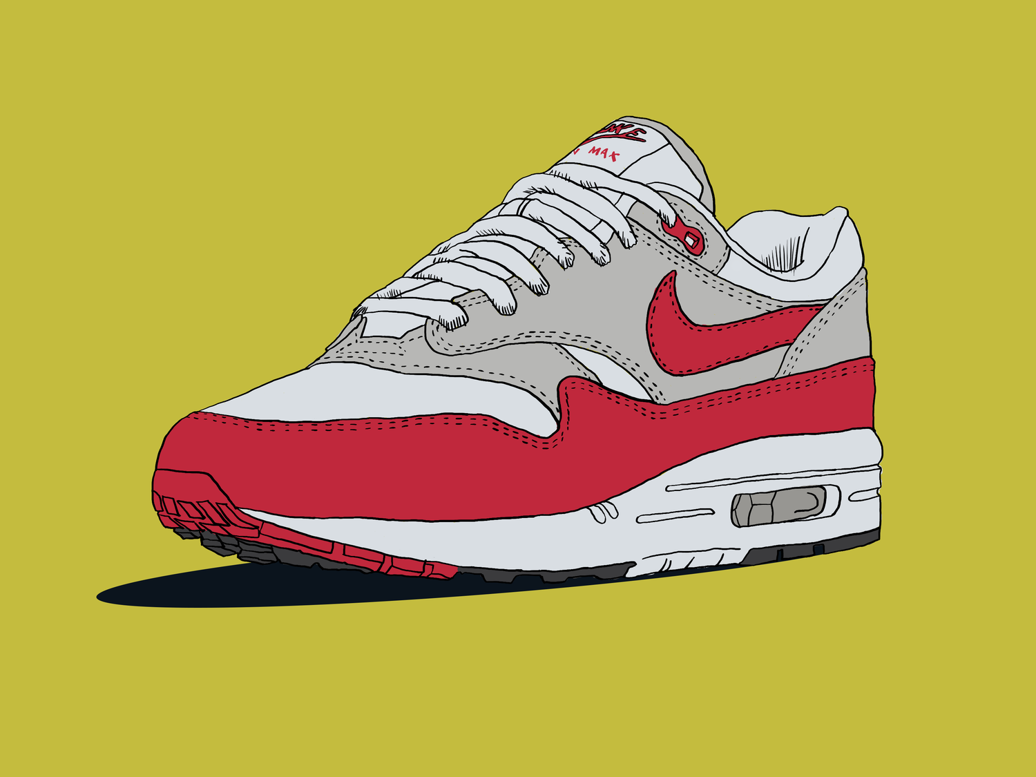 purchase cheap f1dc9 3c19a Nike Air Max 1 Red