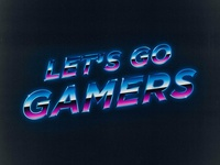 Lets Go Gamers Logo redesign