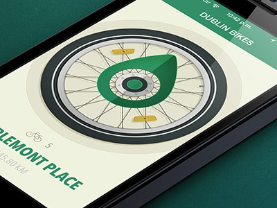 Dublin Bikes App bike app ios7 carlitoxway carlos garcia find compass