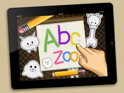 ABC zoo App   carlitoxway ipad app illustration children abc zoo