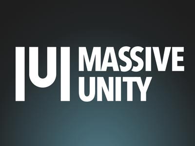 Massive Unity mu logo massive unity unity massive