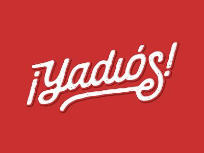 ¡Yadiós! fonts yadier molina type typography st. louis stl baseball