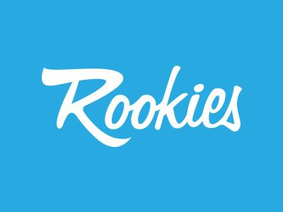 Rookies Logo logo branding rookies wordmark identity