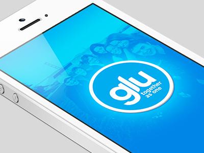Glu Splash ios app splash screen diabetes community glu iphone