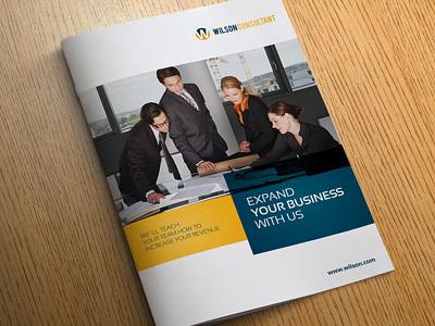 Corporate Business Brochure brochure indesign design editorial design corporate a4 letter