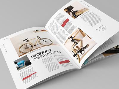 Magazine Layout indesign design editorial design magazine clean corporate a4 letter